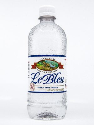 le bleu ultra pure water